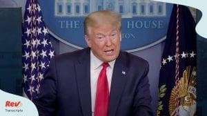 Donald Trump Coronavirus Press Conference May 22