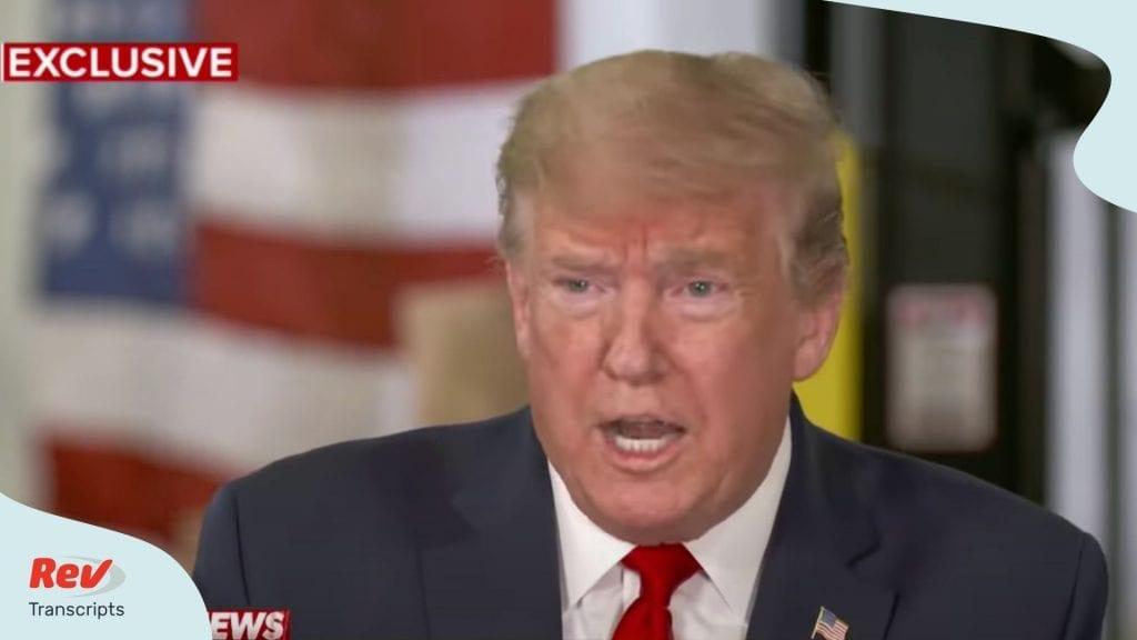 Donald Trump Interview David Muir May 5