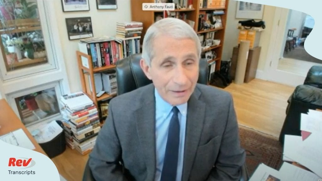 Dr. Fauci Testifies on Reopening United States