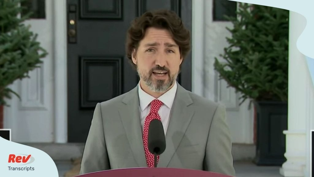 Trudeau Press Conference