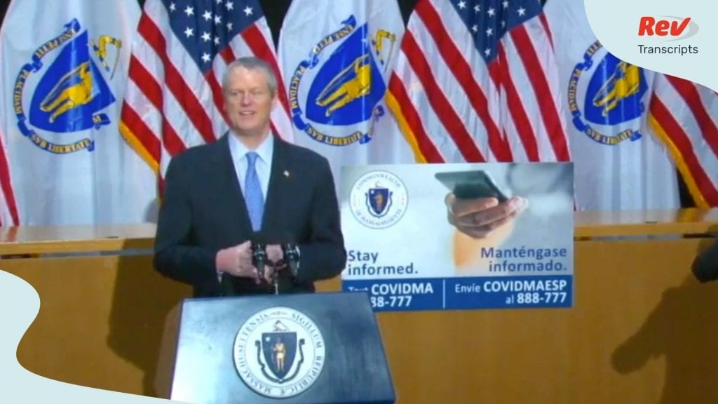 Charlie Baker Press Conference May 14