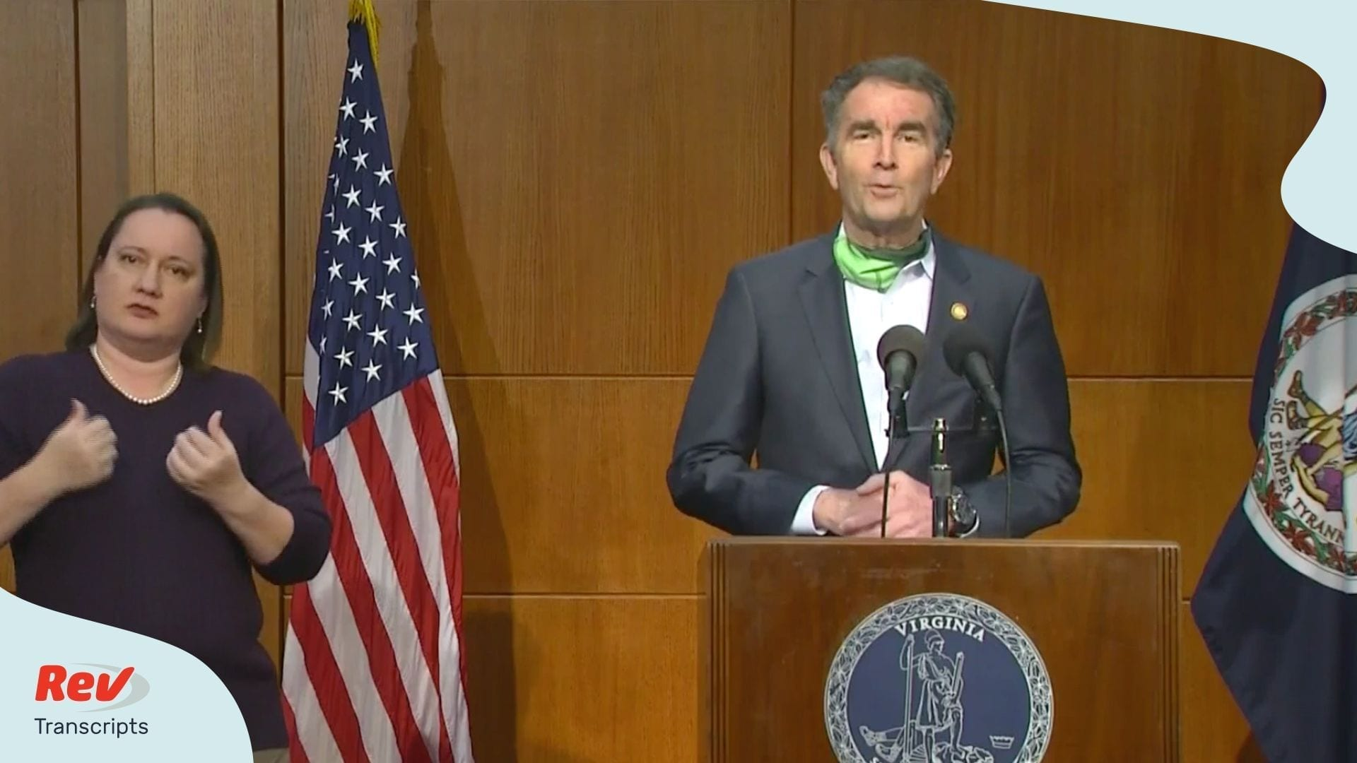 Ralph Northam Virginia Press Conference May 15