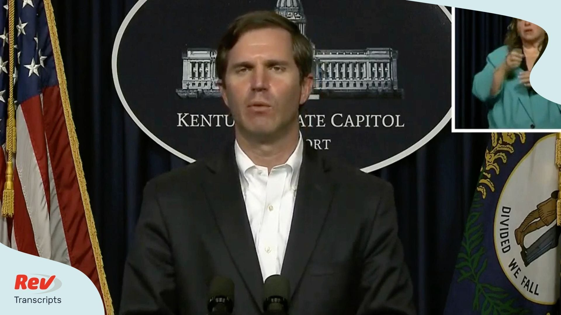 Andy Beshear Press Conference Transcript