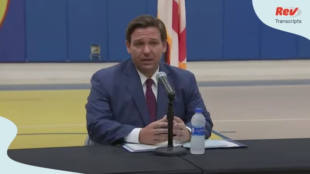 Ron DeSantis Coronavirus Briefing May 22