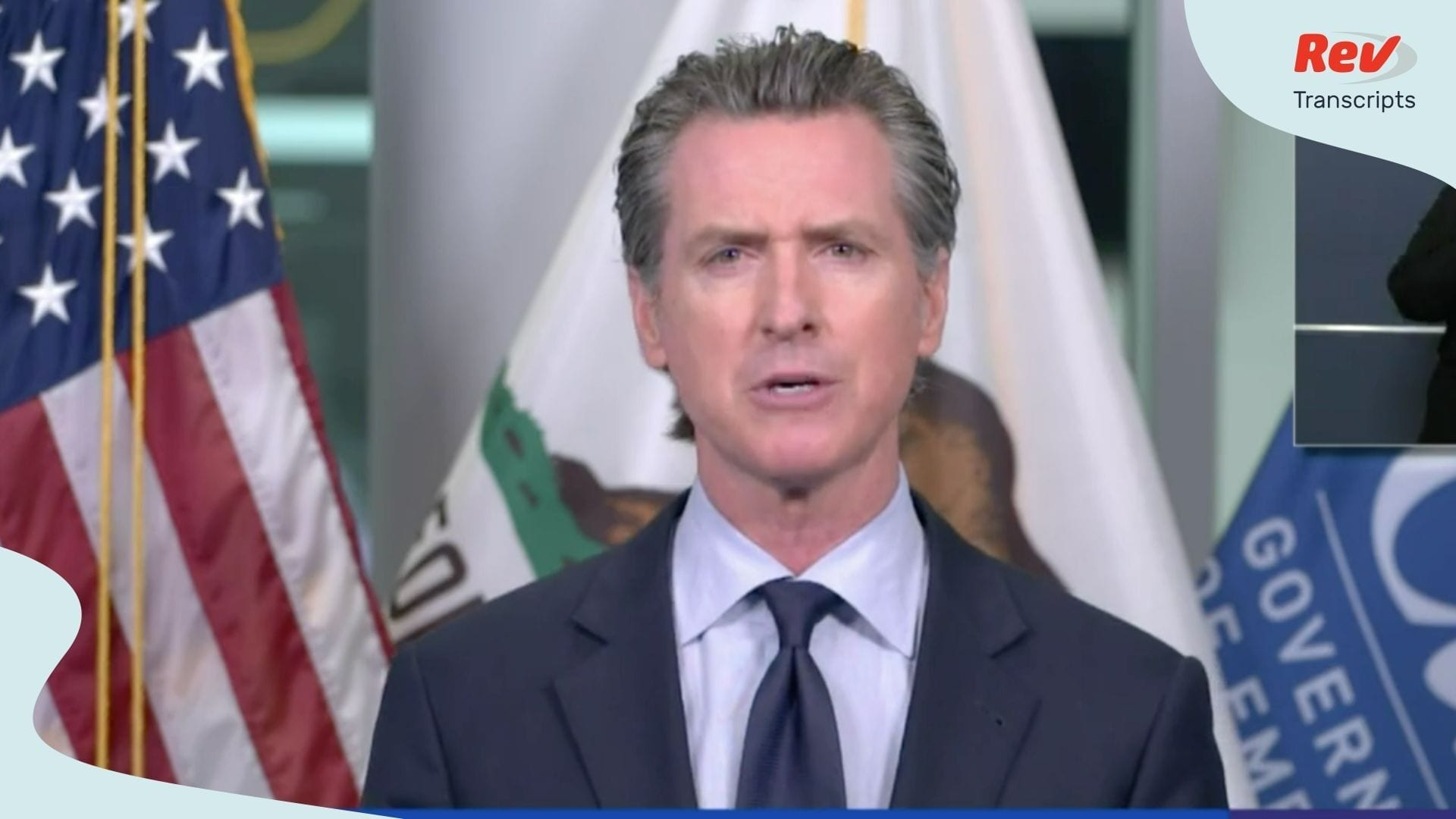Gavin Newsom Coronavirus Press Conference