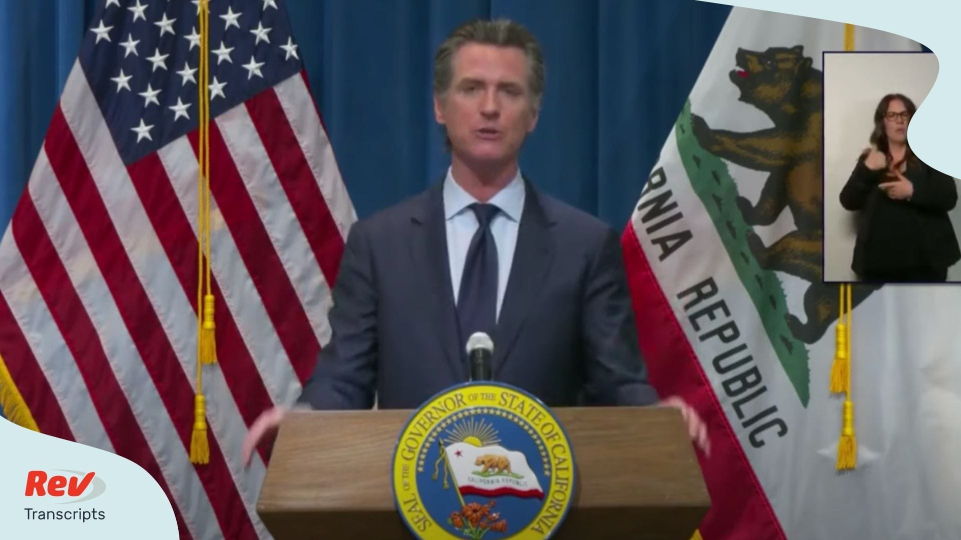 Gavin Newsom May 14 Transcript