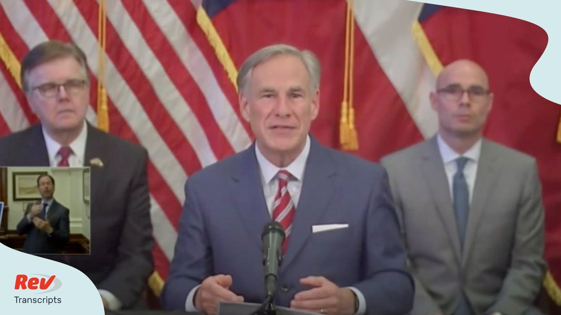 Greg Abbott Press Conference Transcript May 18