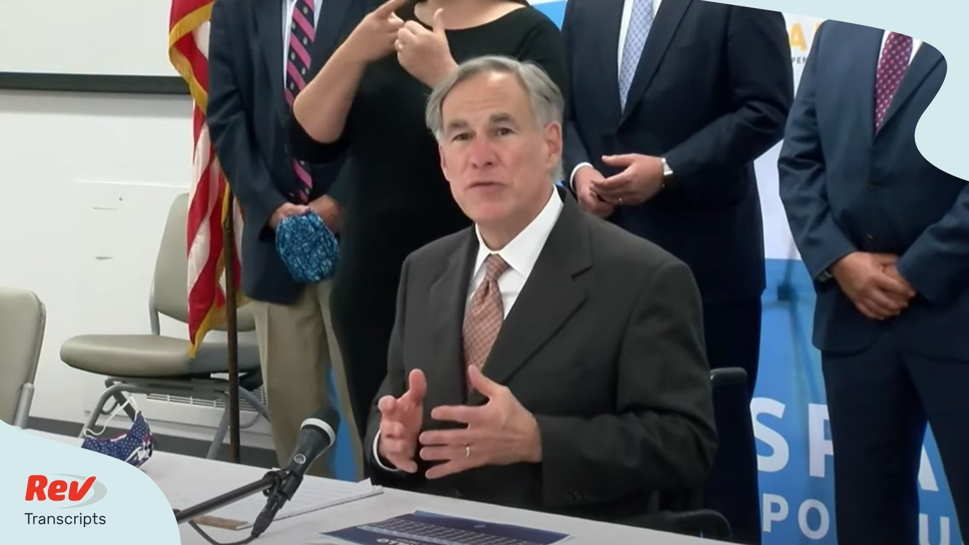 Greg Abbott Texas May 27 Press Conference