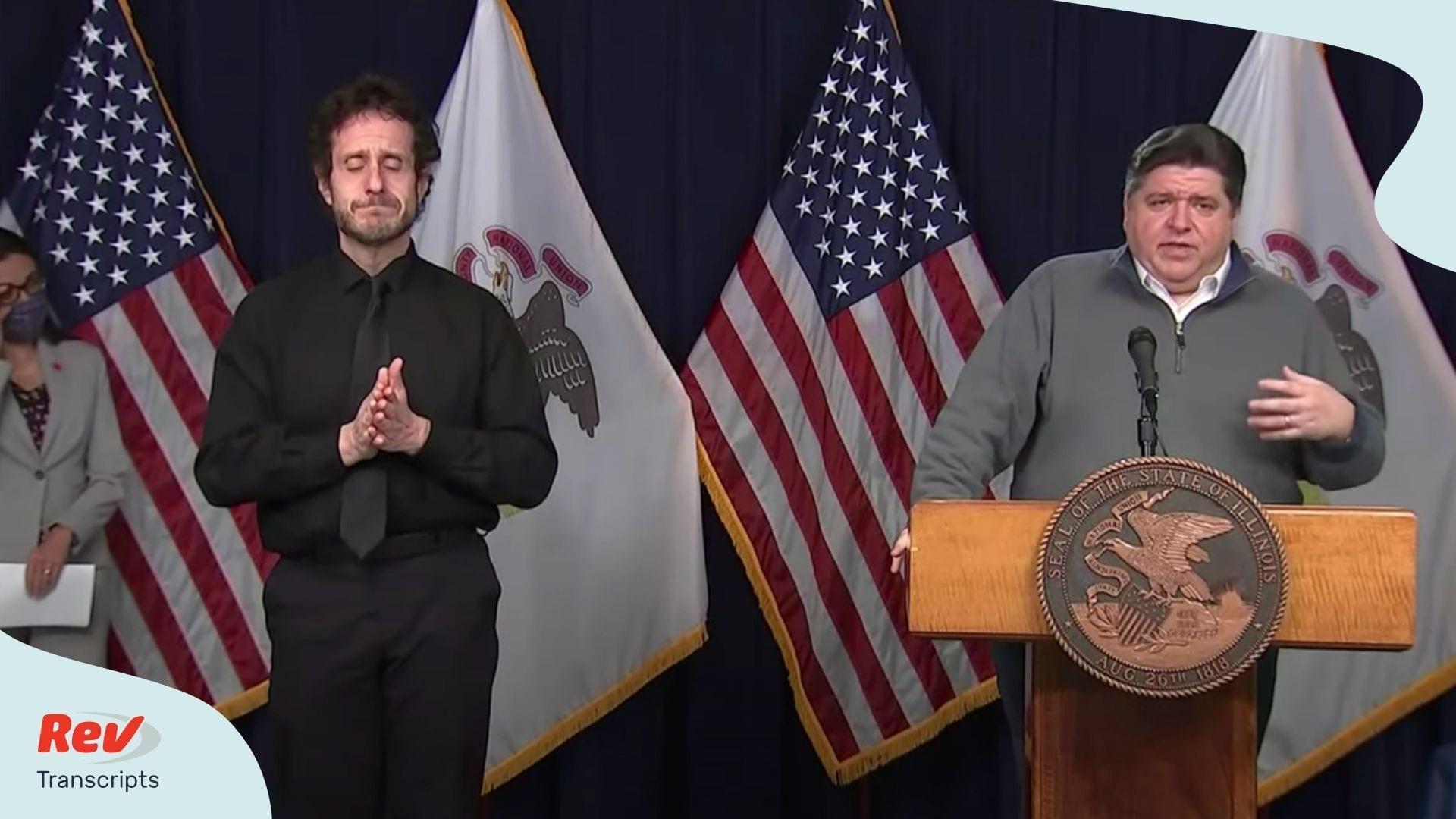Illinois JB Pritzker May 6 Press Conference
