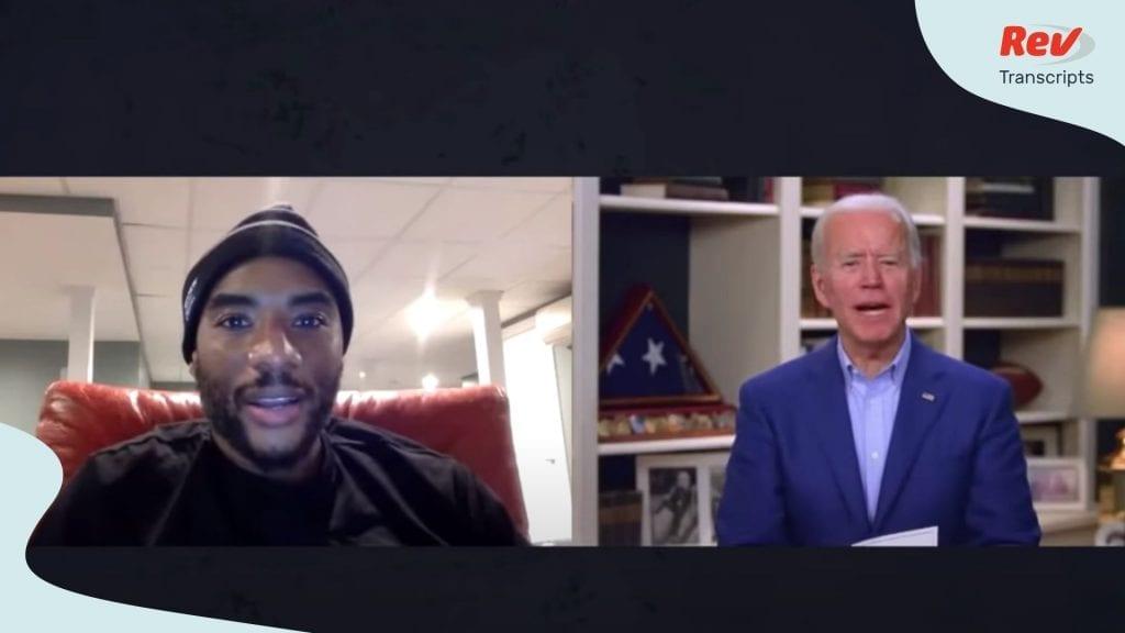 Joe Biden You Ain't Black Interview