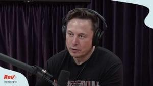 Joe Rogan Elon Musk Podcast Transcript May 8 2020