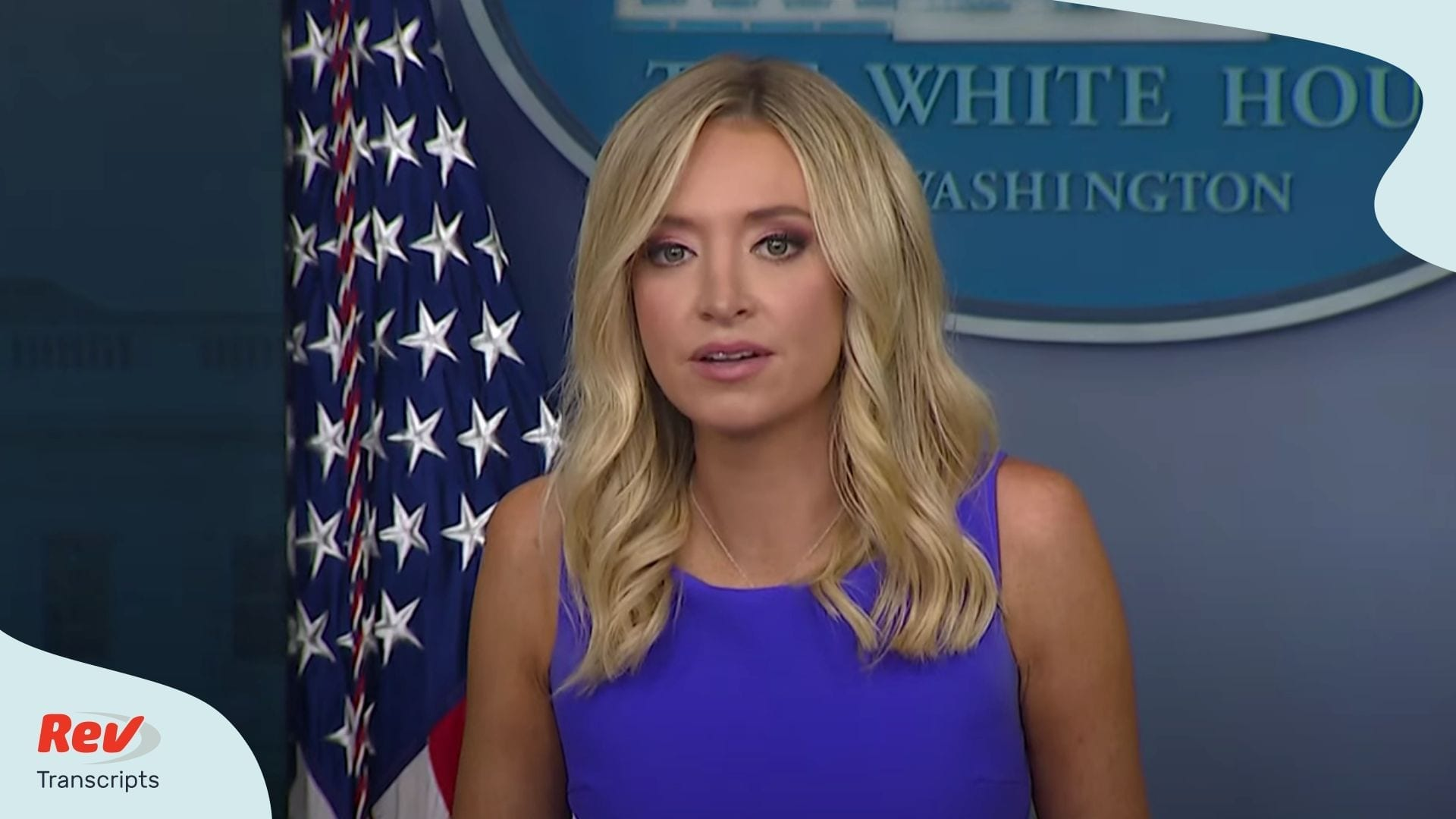 Kayleigh McEnany White House Press Conference May 28