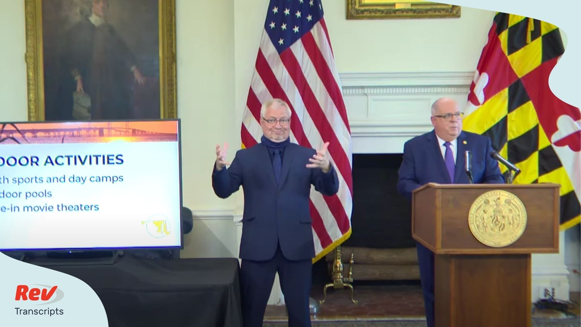 Larry Hogan MD May 27 Press Conference