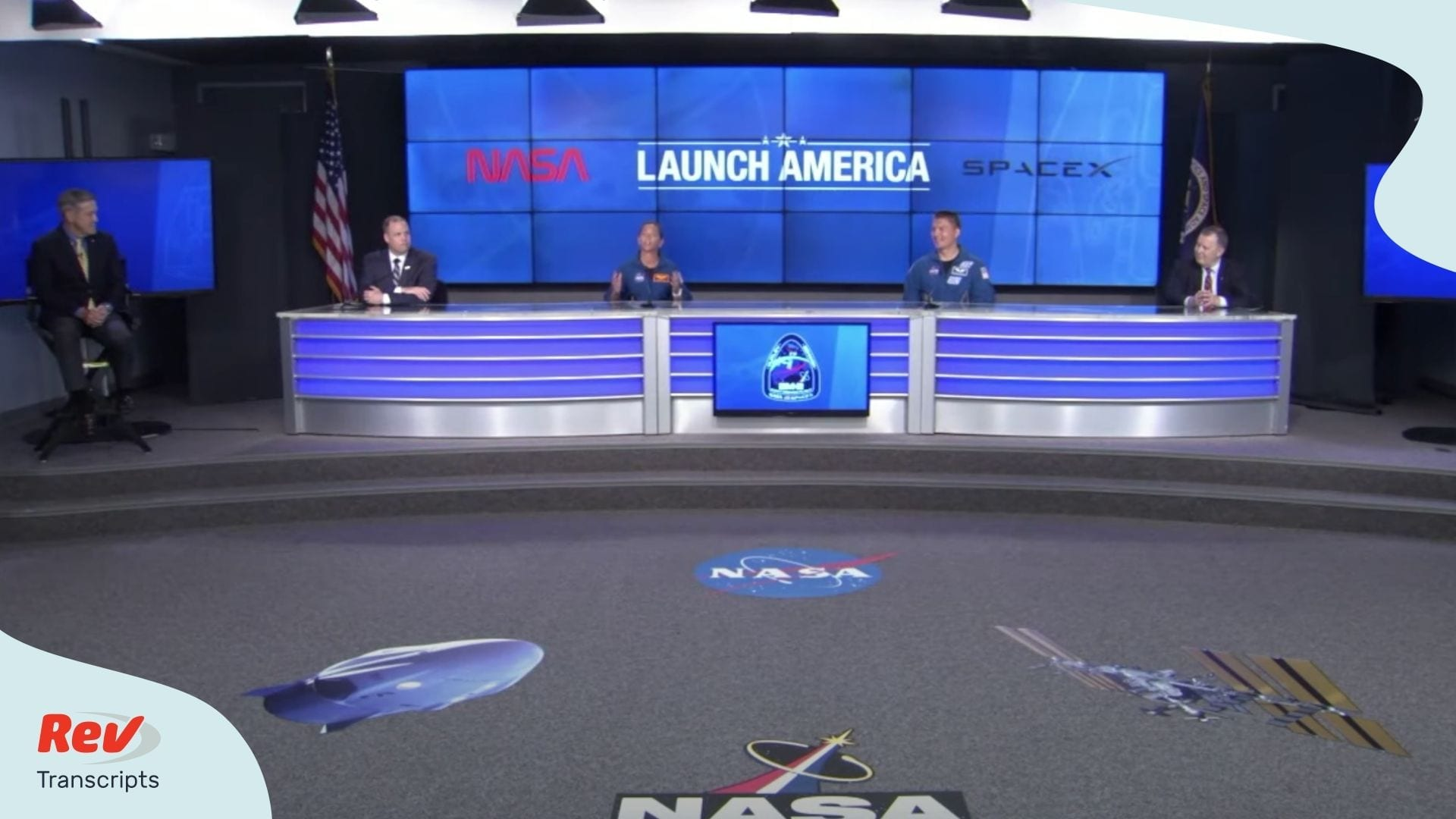 NASA SpaceX Launch Press Conference