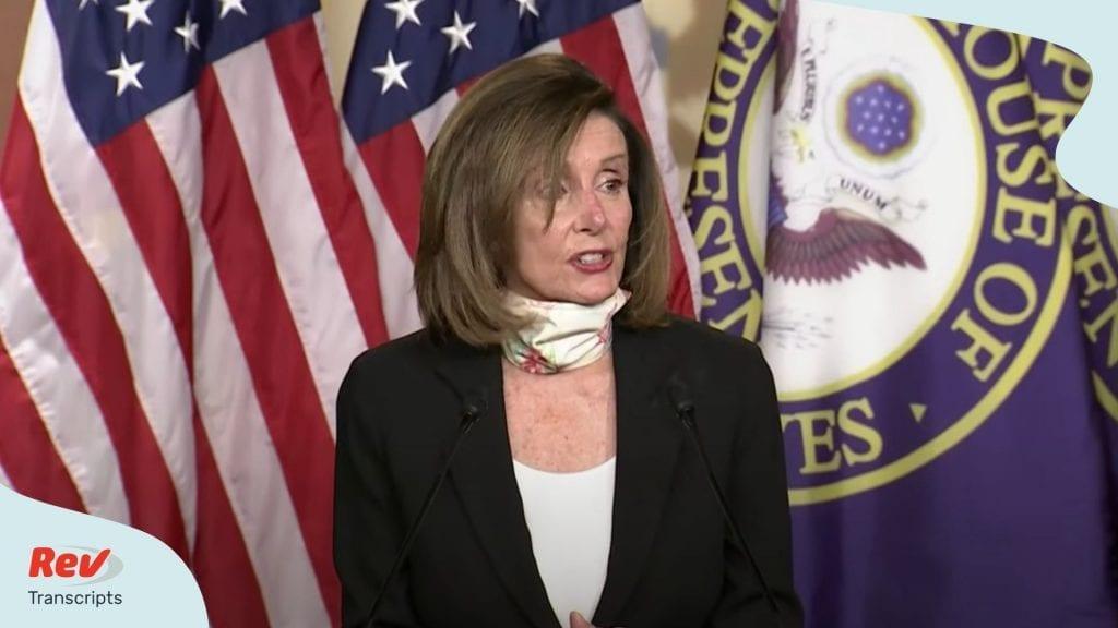 Nancy Pelosi Press Conference May 28