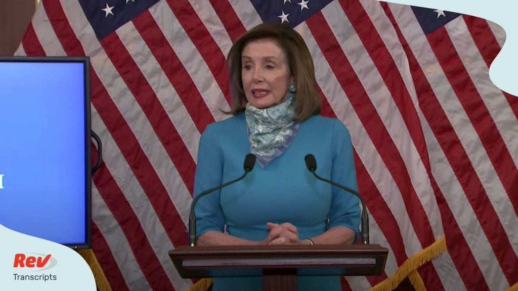 Nancy Pelosi Press Conference Transcript May 7