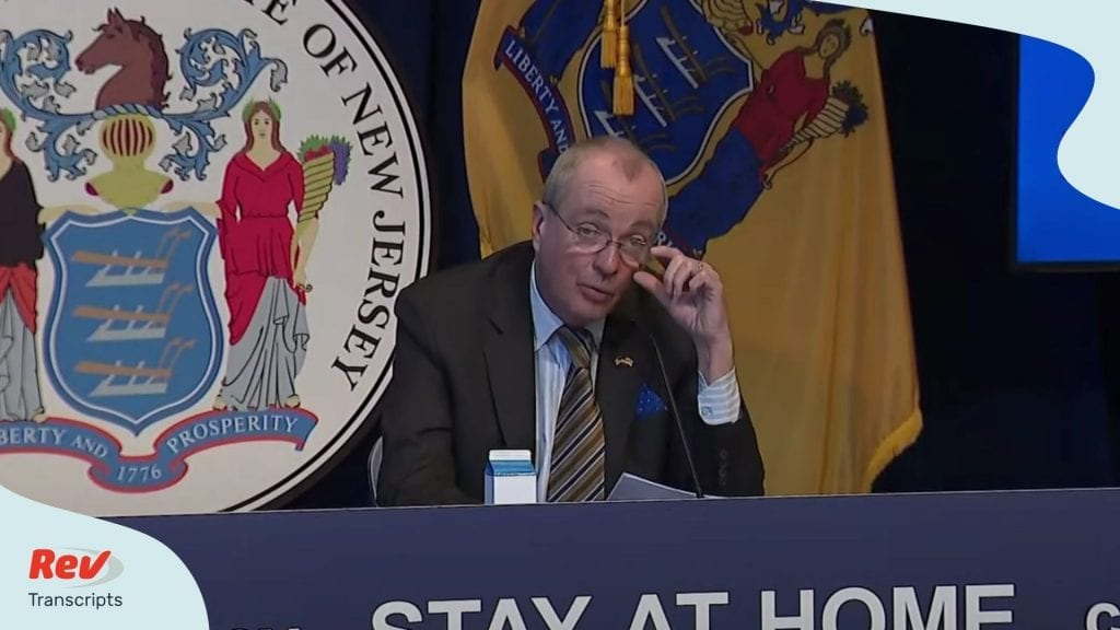 Phil Murphy New Jesery Press Conference