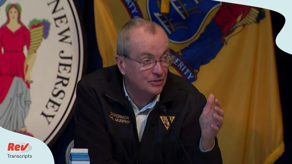 Phil Murphy Press Conference May 15