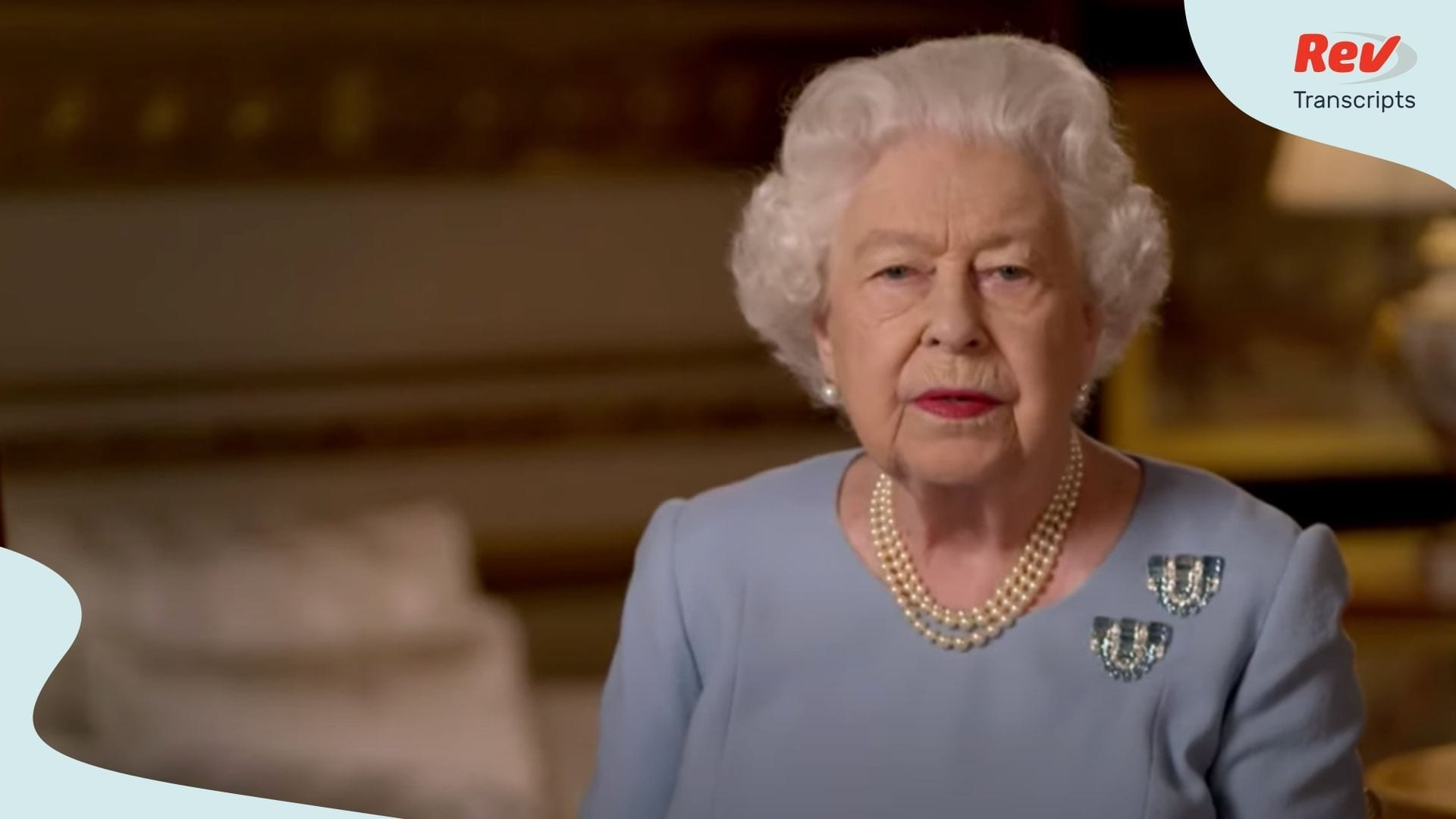 Queen Elizabeth II Delivers Address Honoring VE Day 75th Anniversary