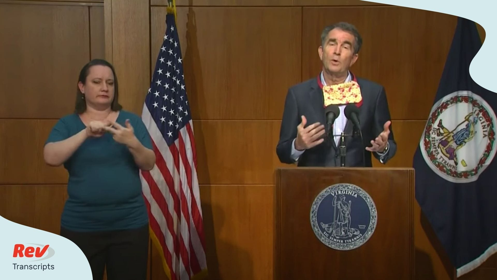 Ralph Northam Coronavirus Press Conference May 22