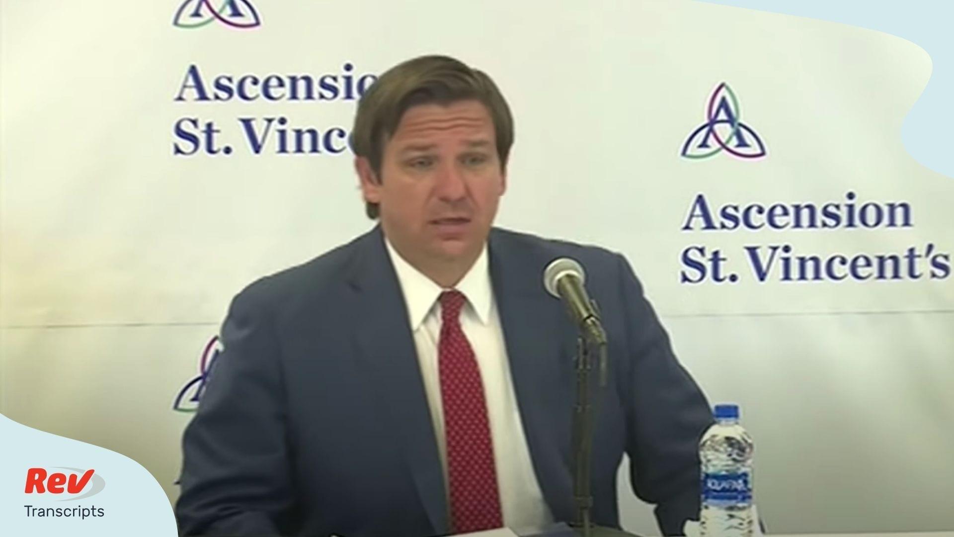 Ron DeSantis Coronavirus Press Conference May 15