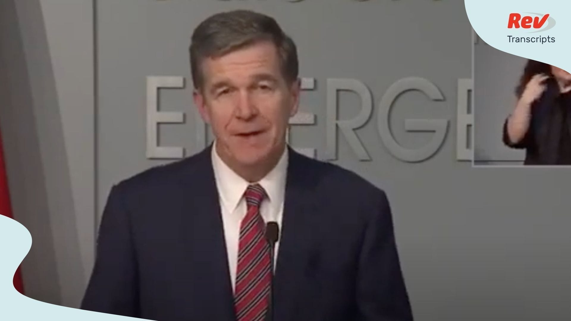 Roy Cooper NC Press Conference May 26