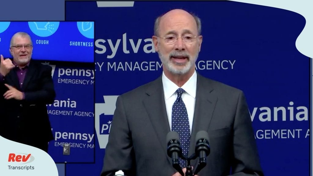 Tom Wolf Coronavirus Press Conference Transcript May 8