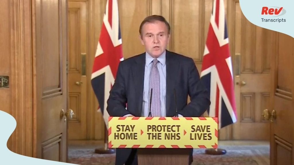 UK Coronavirus Press Conference Transcript May 8