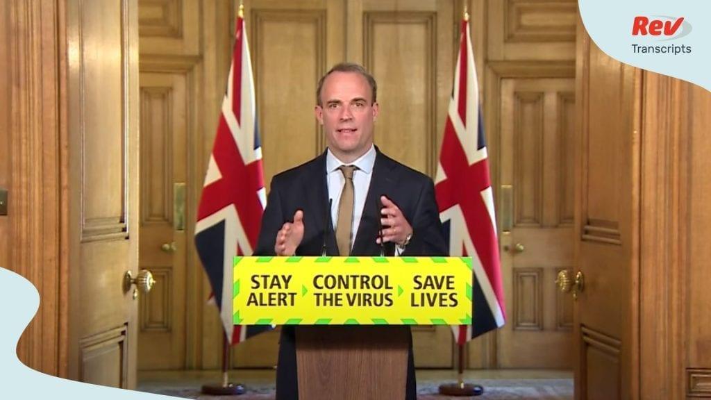 UK Press Conference May 18
