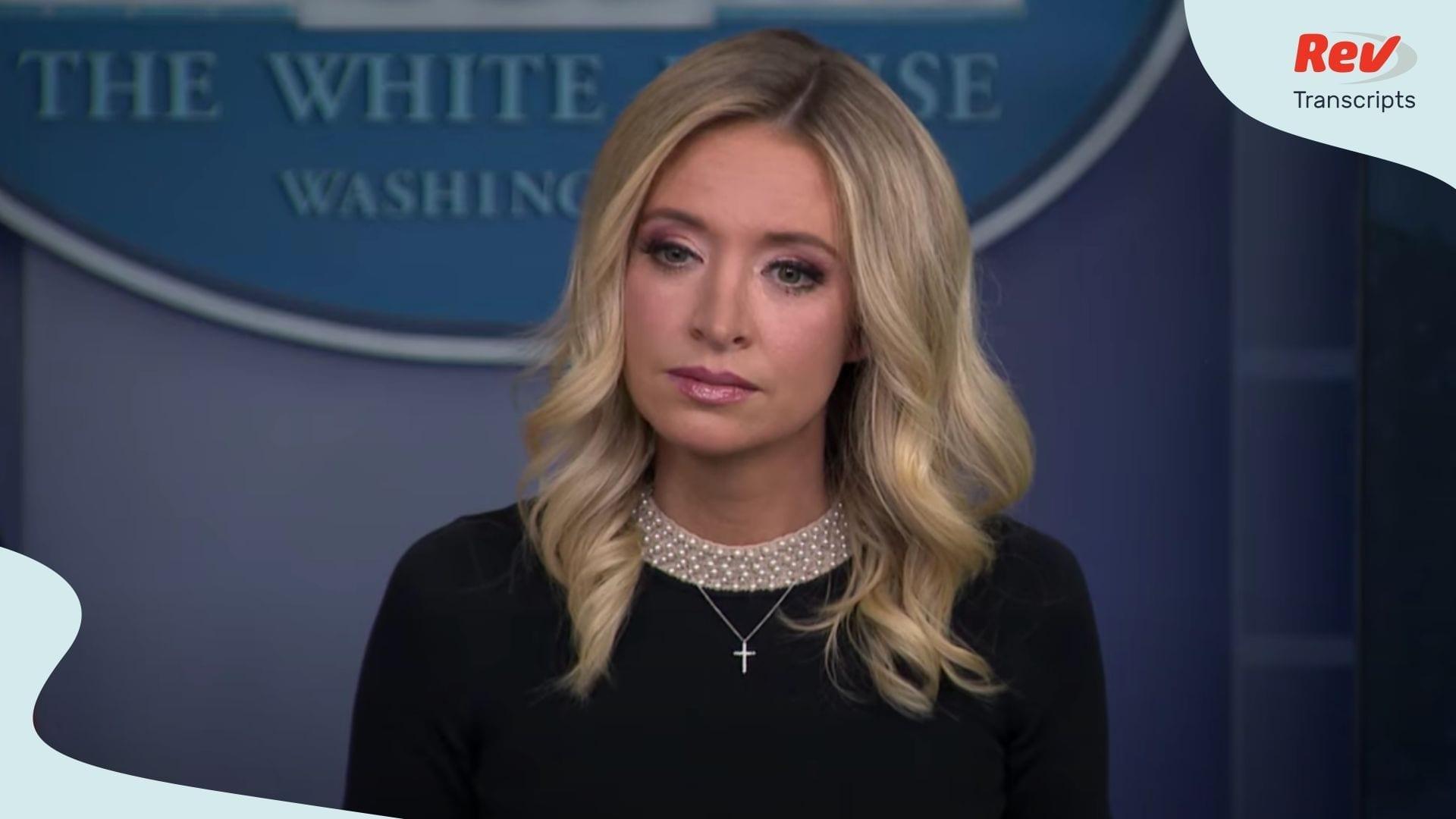 White House Press Secretary Briefing May 15