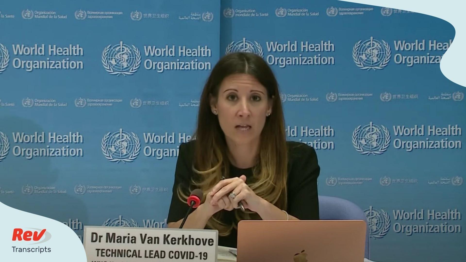 World Health Organization Coronavirus Press Conference May 11