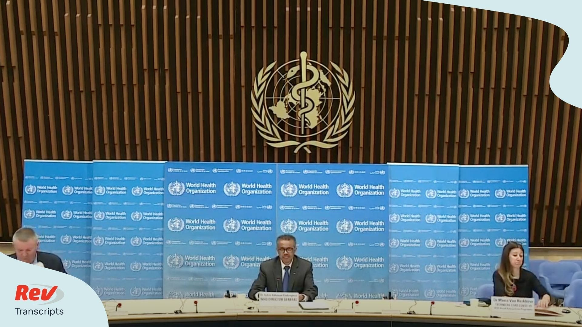 World Health Organization Press Conference Coronavirus May 13