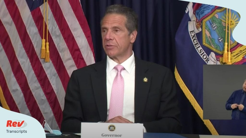 Andrew Cuomo Press Conference June