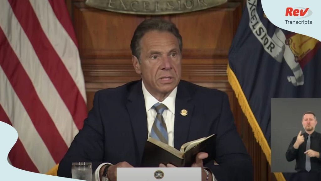 Andrew Cuomo Press Conference June 3