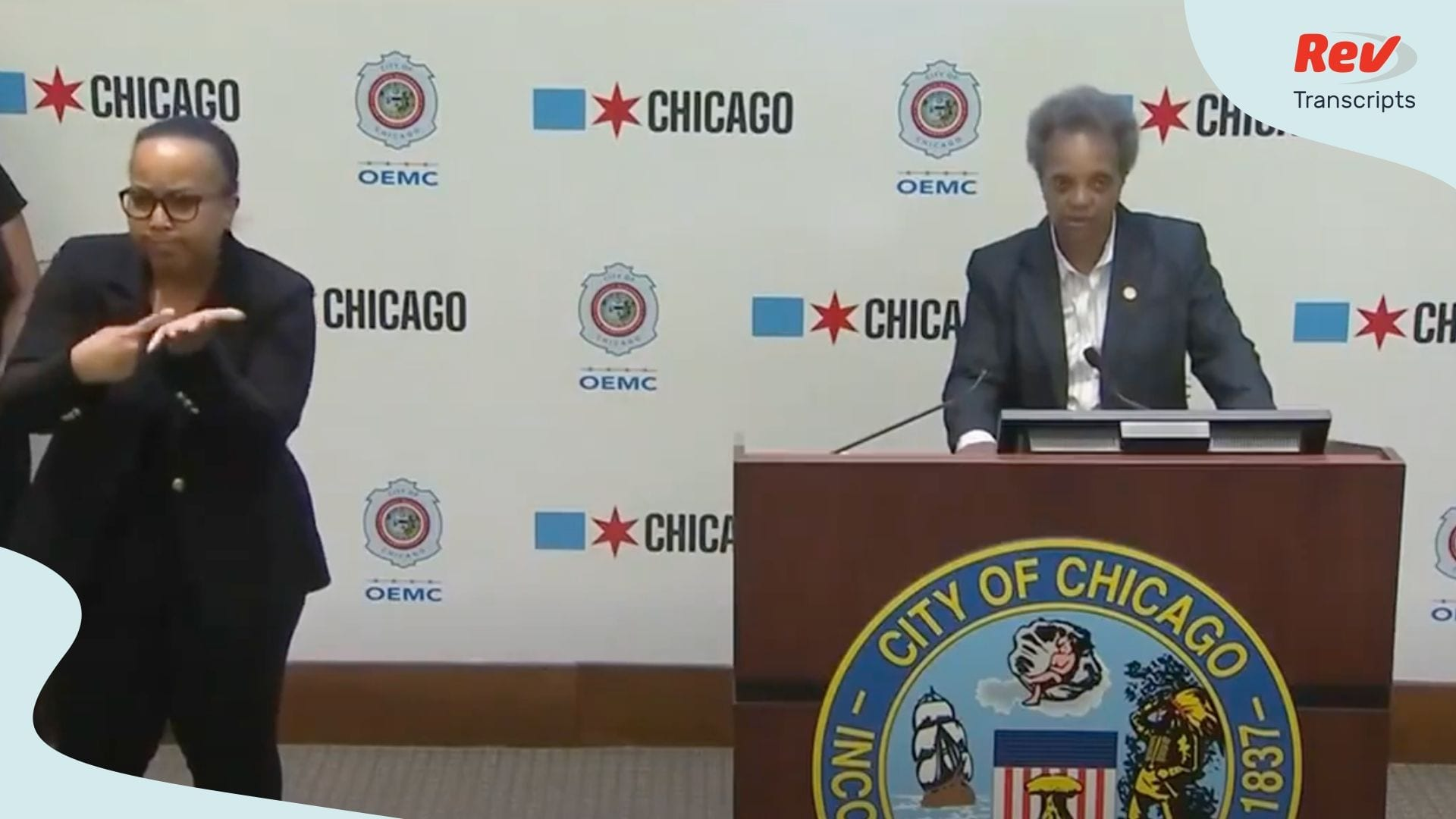 Chicago Mayor Lori Lightfoot Press Conference June 2