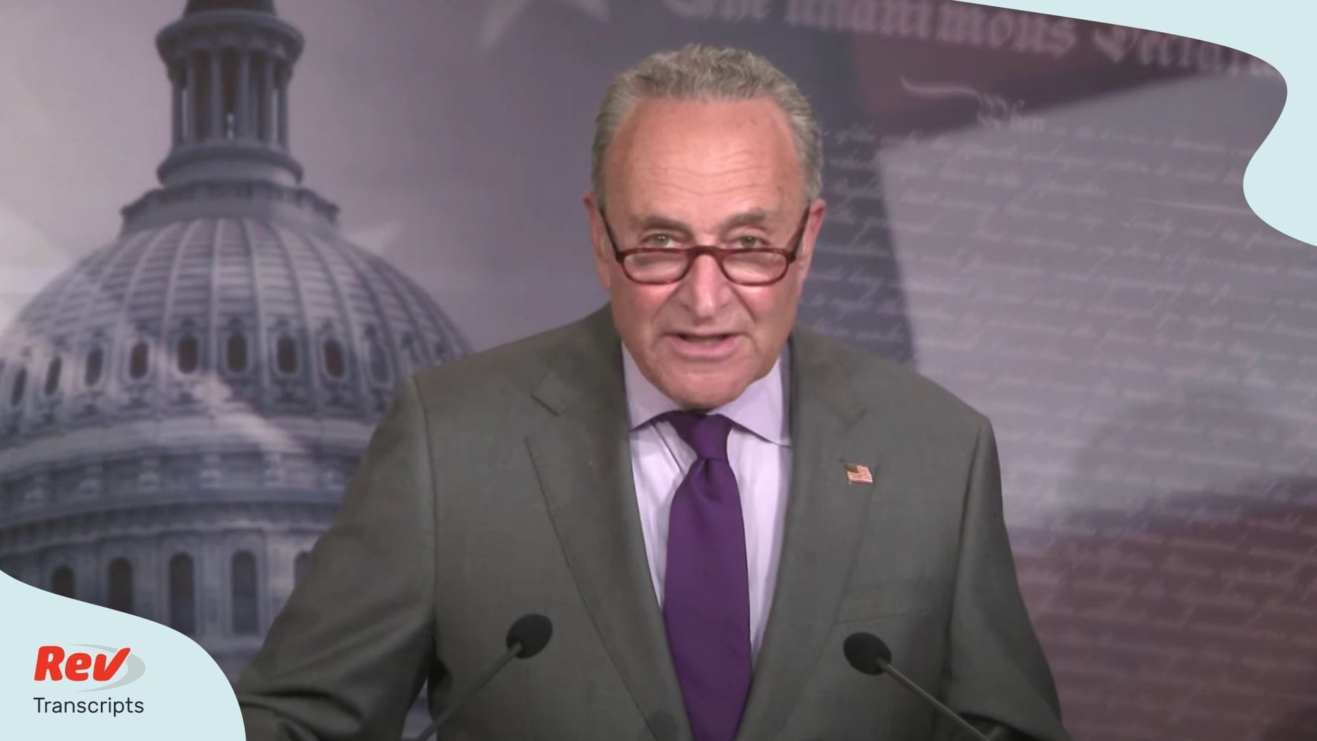 Chuck Schumer Press Conference June 30