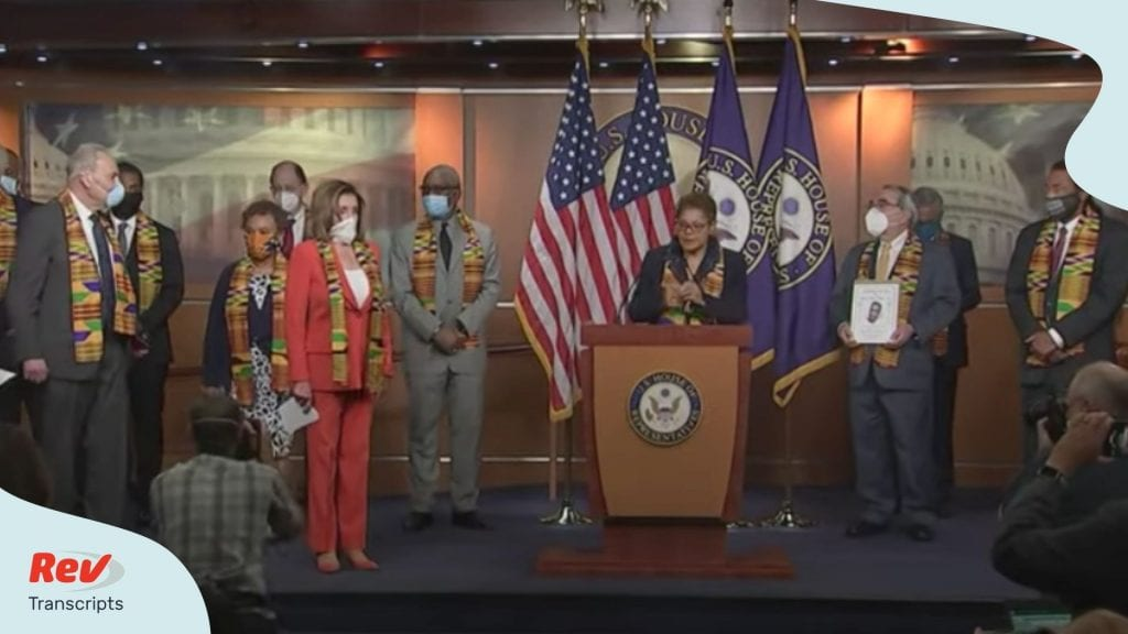 Congressional Demograt Police Reform Bill Press Conference