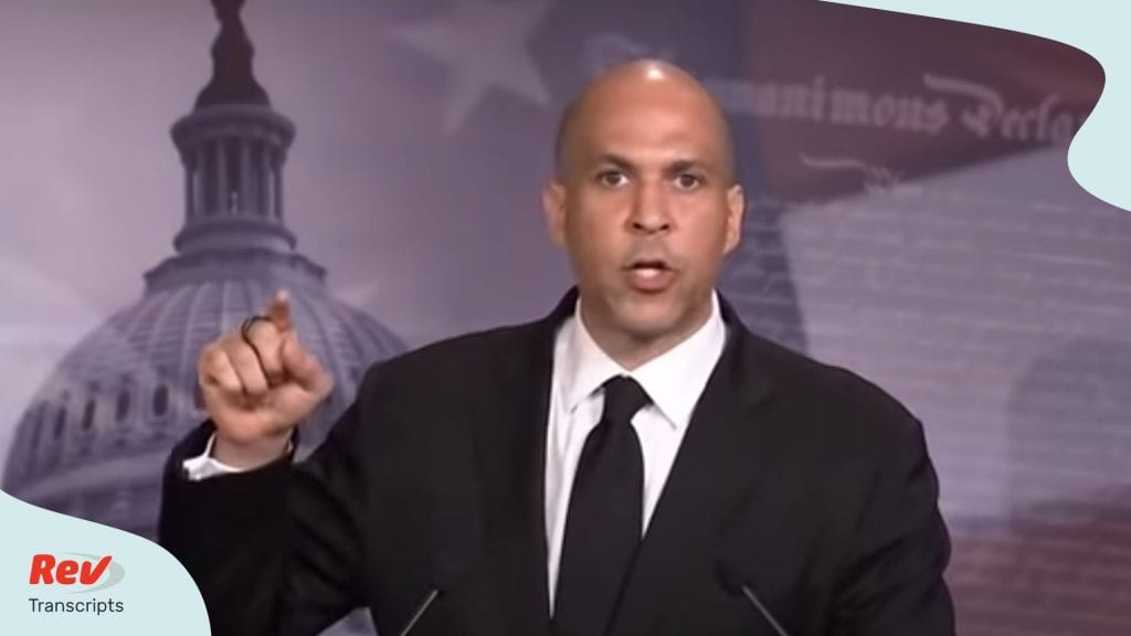 Cory Booker Kamala Harris Speech June 2 Floyd
