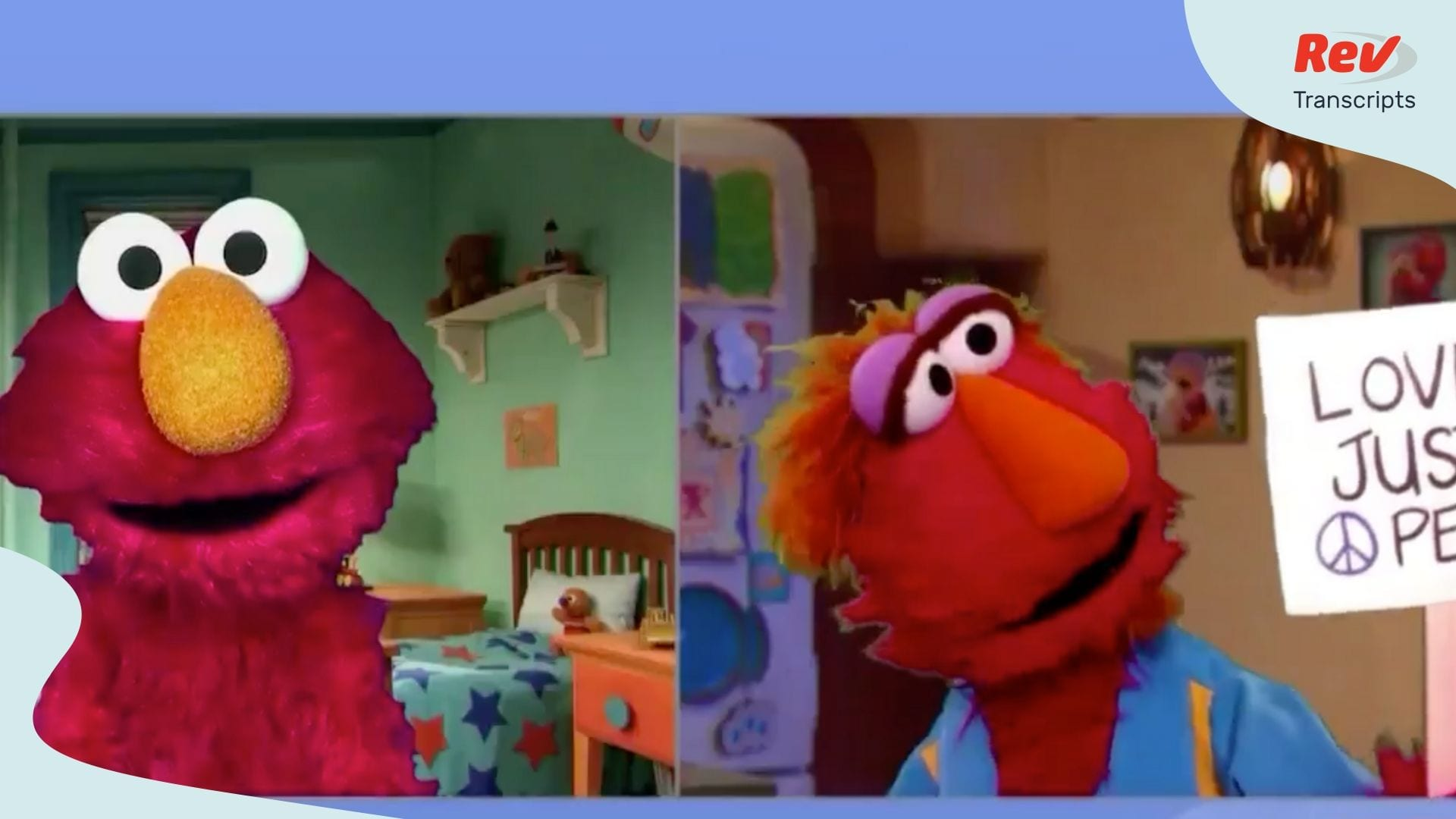 Elmo's Dad Explains Black Lives Matter Protests to Elmo