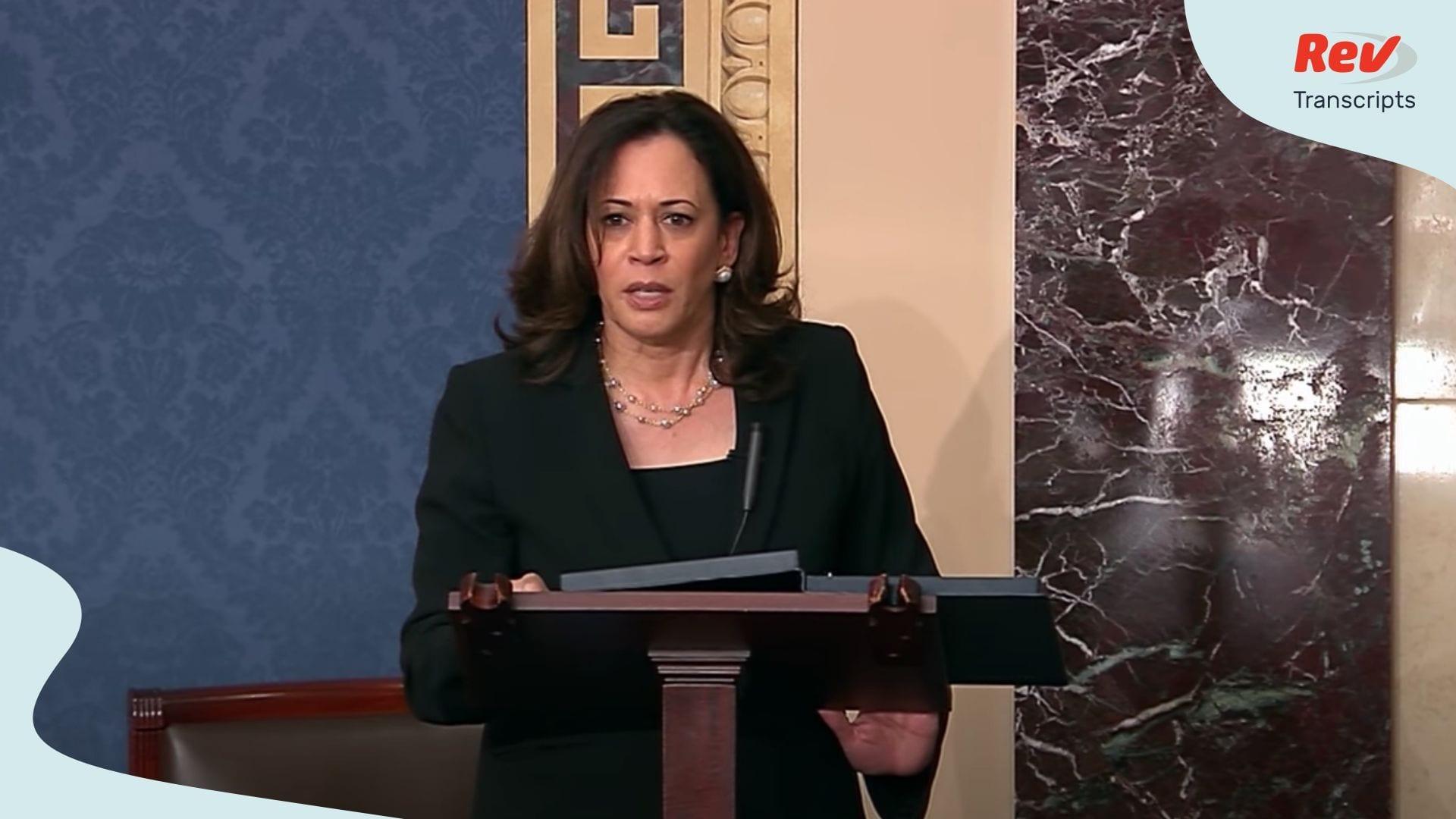 Kamala Harris Rand Paul Cory Booker Debate Anti Lynching Bill