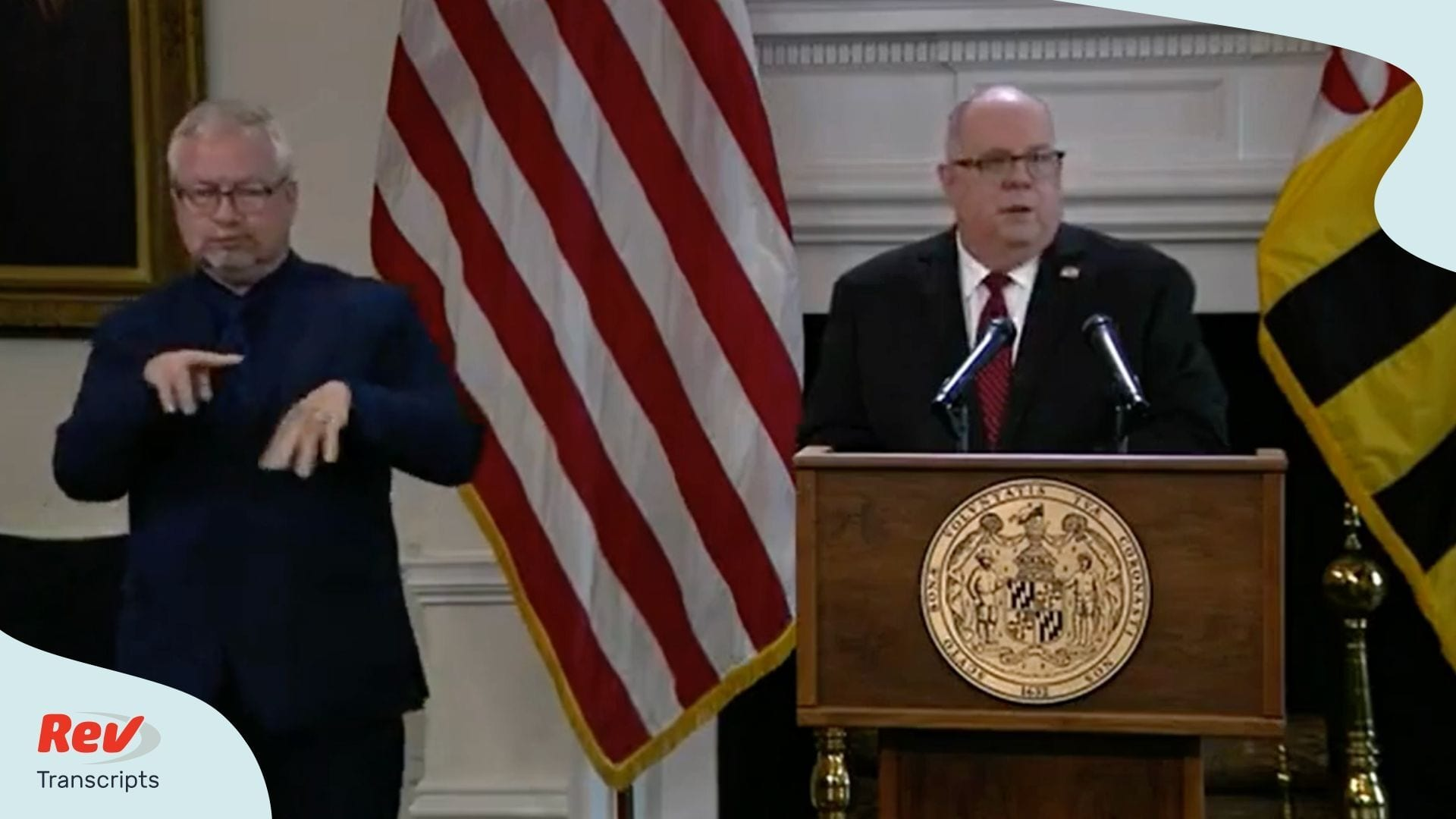 Larry Hogan Press Conference June 3