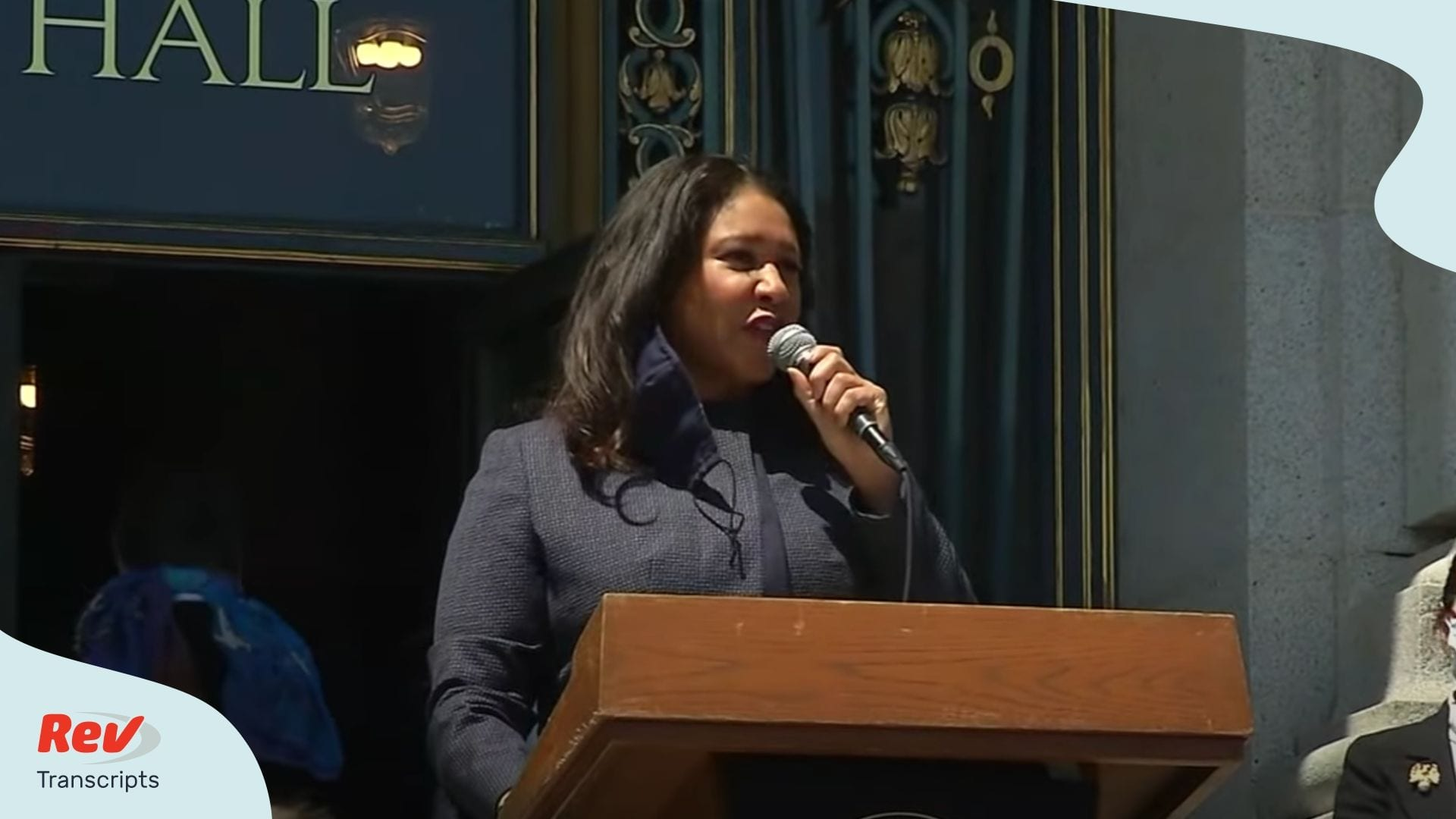 San Francisco's London Breed talks protests