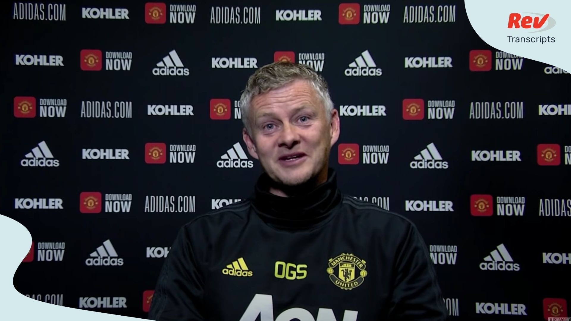 Ole Gunnar Solskjaer Press Conference Brighton v Manchester United June 29