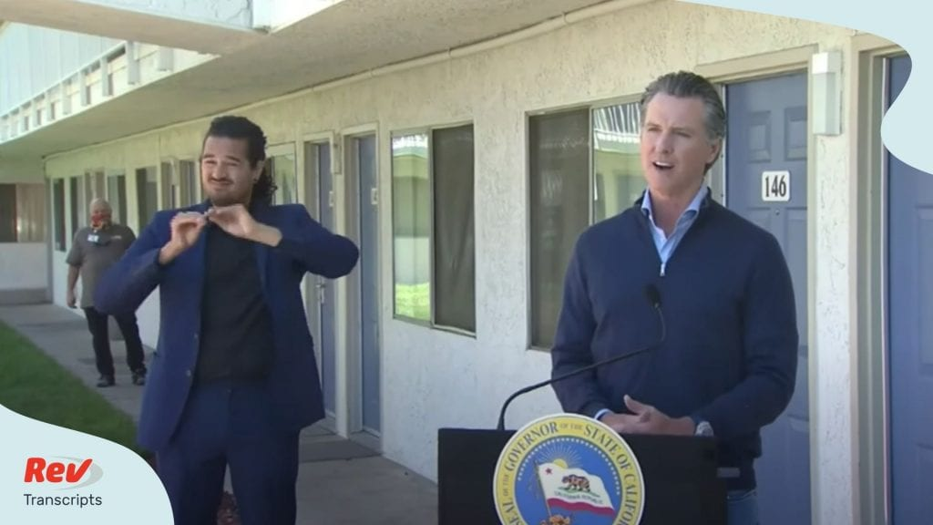 Gavin Newsom California Press Conference June 30