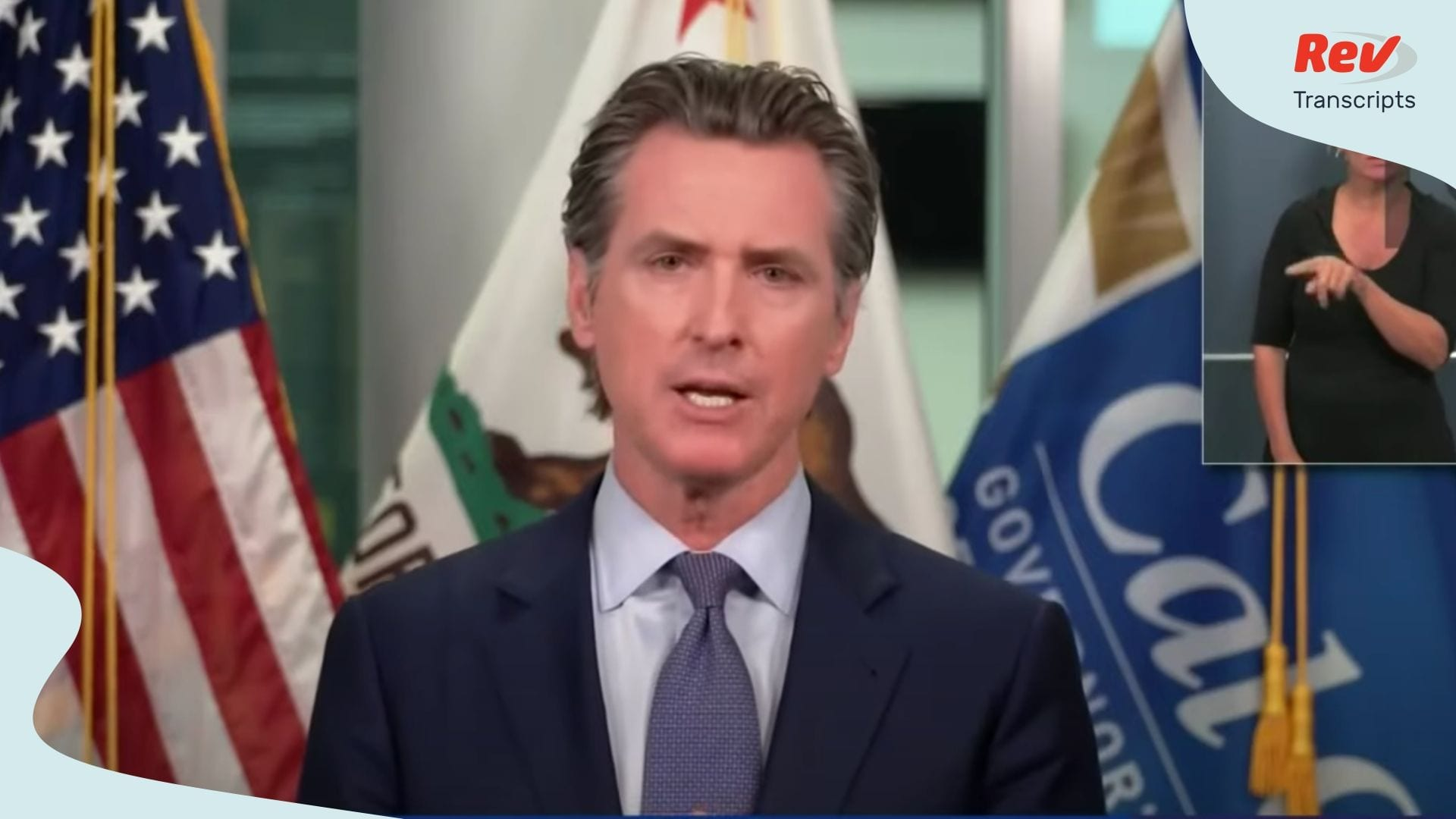 Governor California Gavin Newsom Press Conference June 29