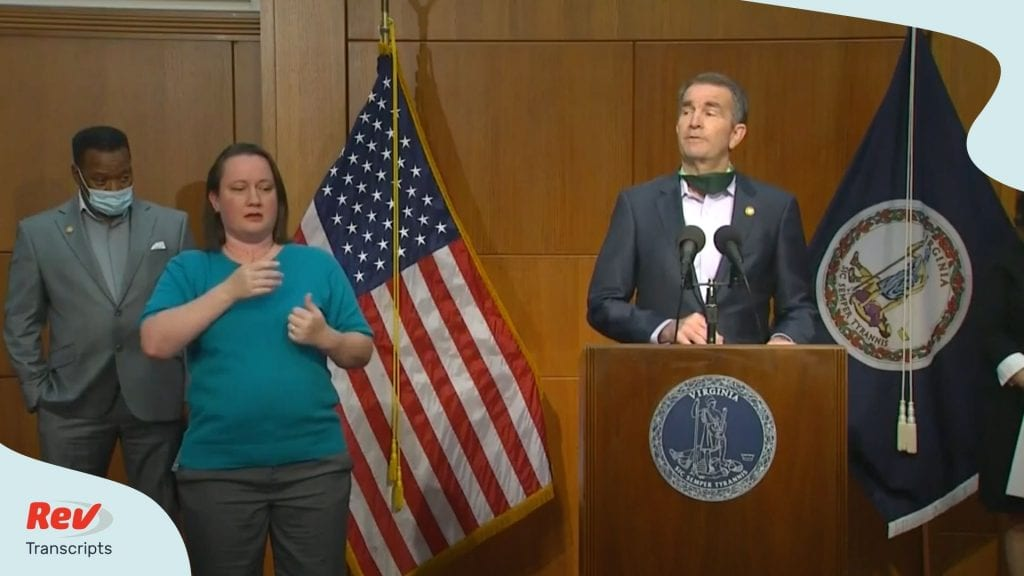 Governor Ralph Northam Press Conference June 2
