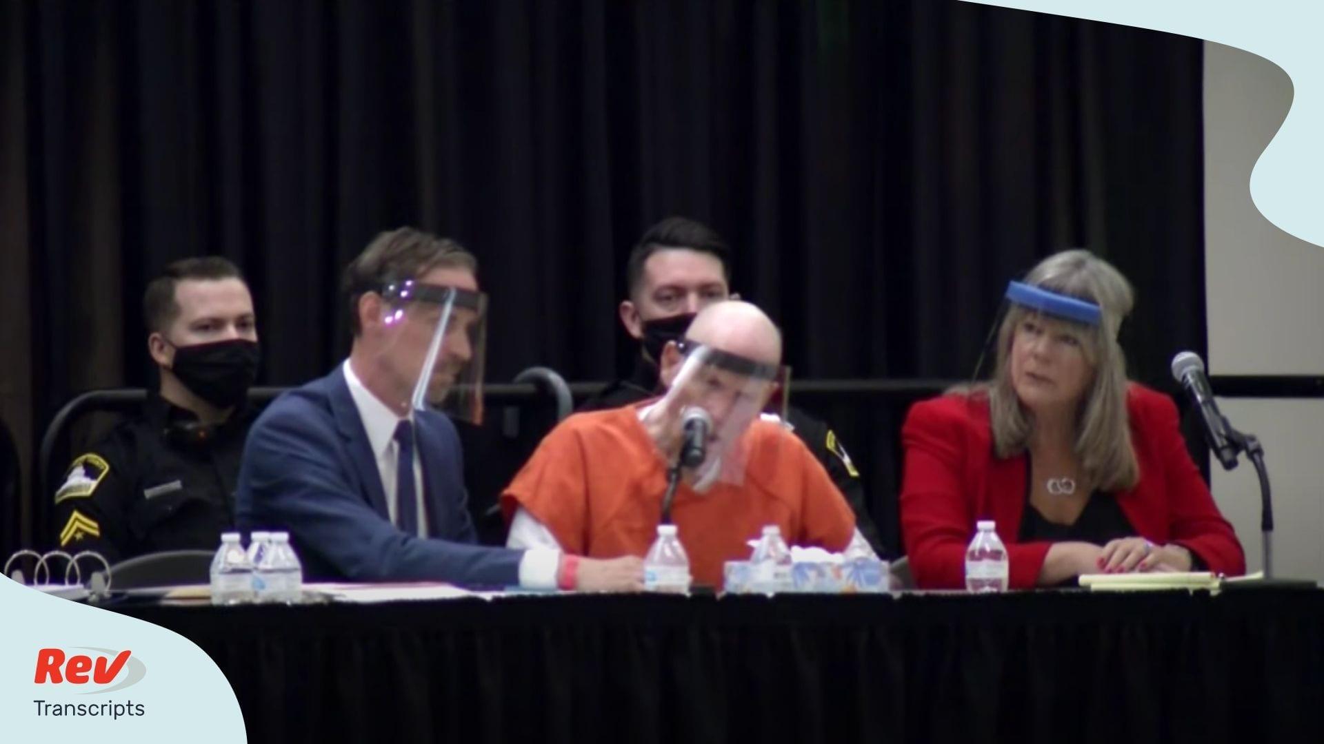 Hearing for accused Golden State Killer Joseph DeAngelo Jr.
