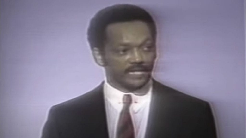Jesse Jackson Rainbow Coalition Speech