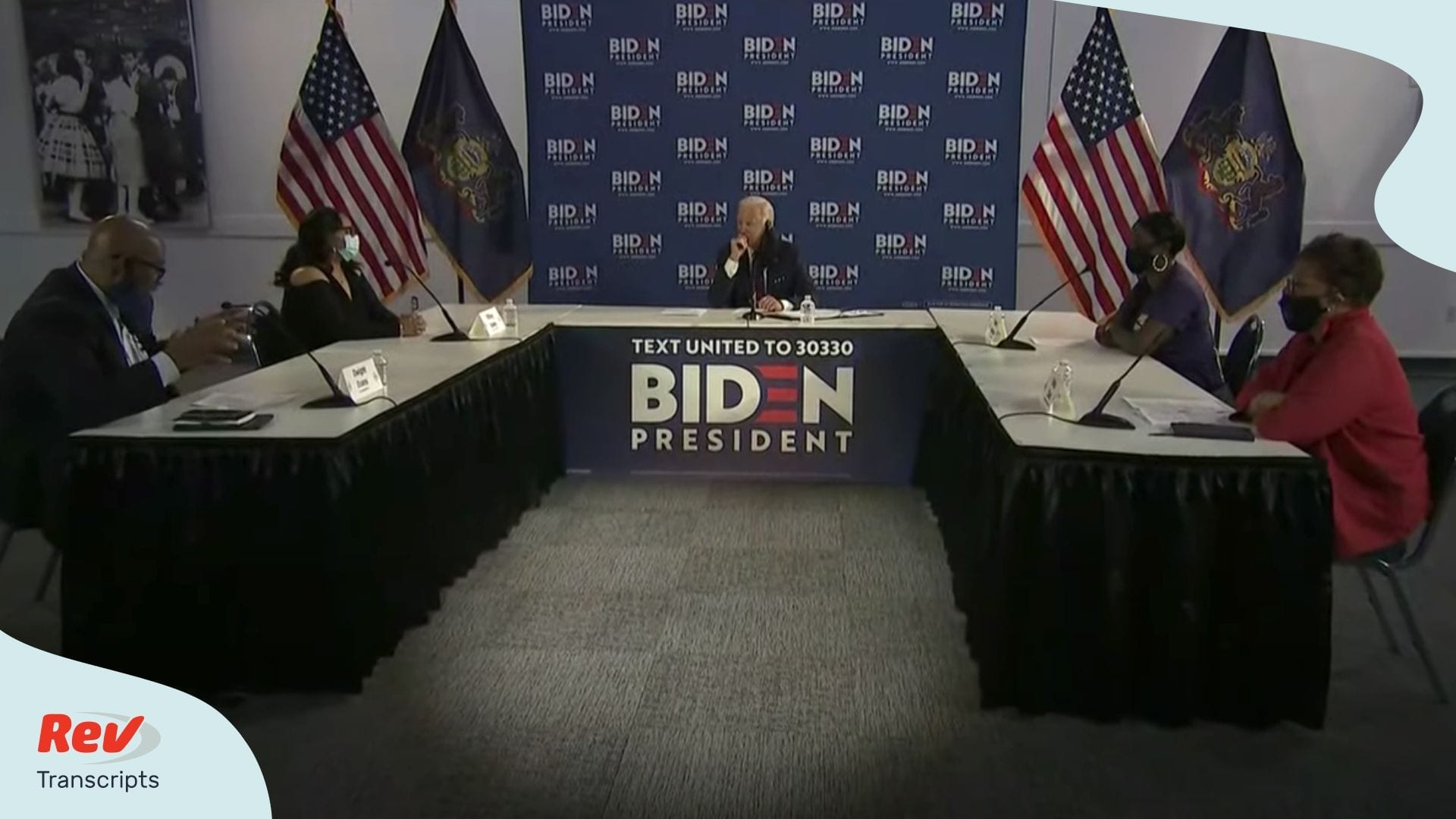 Joe Biden Roundtable Transcript Philadelphia Reopen