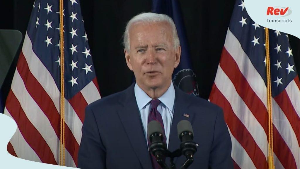 Joe Biden Speech on Health Care, Affordable Care Act
